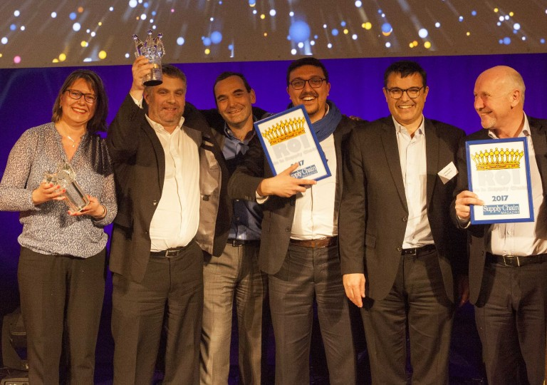 "ID Logistics awarded the ""Great Prize"" of the Kings of the Supply Chain event 2017"