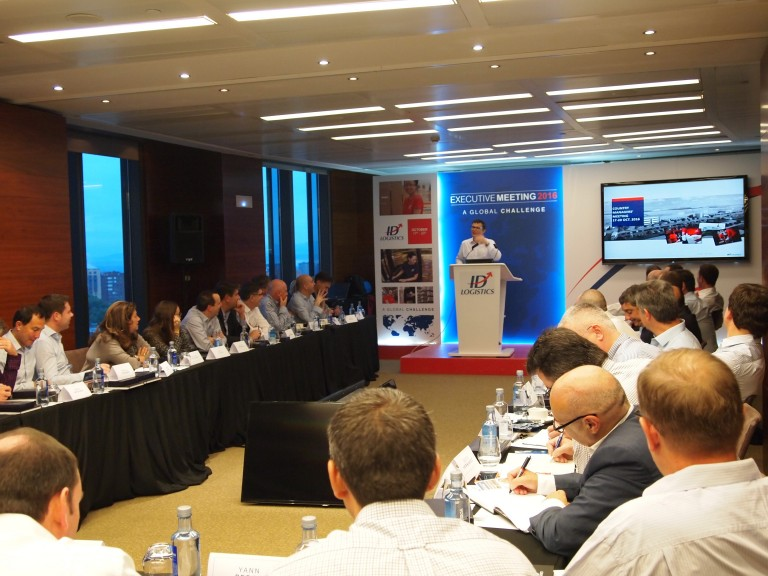 El grupo ID Logistics celebra en Madrid su International Executive Meeting 2016